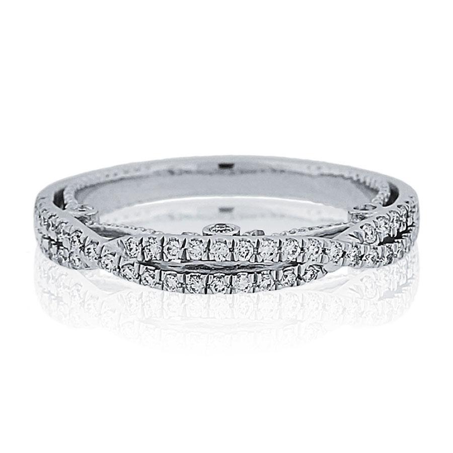 Verragio Wedding Bands.Verragio Engagement Rings Gold Diamond Wedding Band 0 10ctw