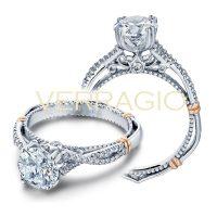Verragio PARISIAN-105 0.15ctw Diamond Engagement Ring Setting