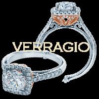 Verragio COUTURE-0433CU-TT 0.50ctw Diamond Engagement Ring Setting