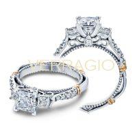 Verragio PARISIAN-124P 0.45ctw Diamond Engagement Ring Setting