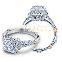 Verragio PARISIAN-117CU 0.35ctw Diamond Engagement Ring Setting