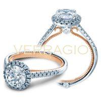 Verragio COUTURE-0420R-2TGL 0.30ctw Diamond Engagement Ring Setting