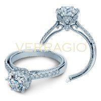Verragio COUTURE-0429DR 0.50ctw Diamond Engagement Ring Setting