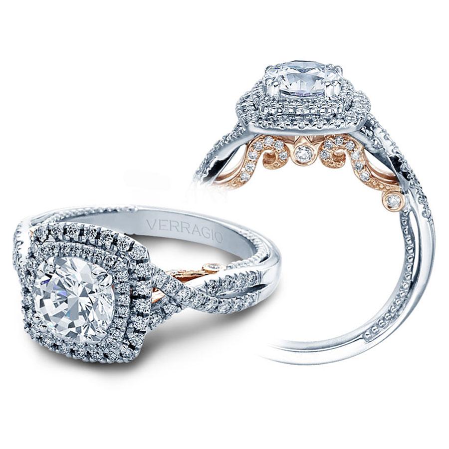 Verragio Engagement Rings 0 55ctw Diamond Setting