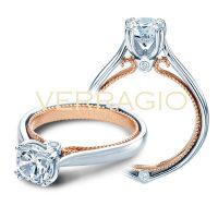 Verragio COUTURE-0418R-2T 0.04ctw Diamond Engagement Ring Setting