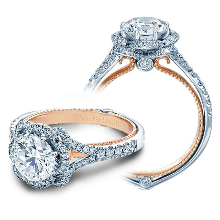 Verragio Engagement Rings 0 40ctw Diamond Setting