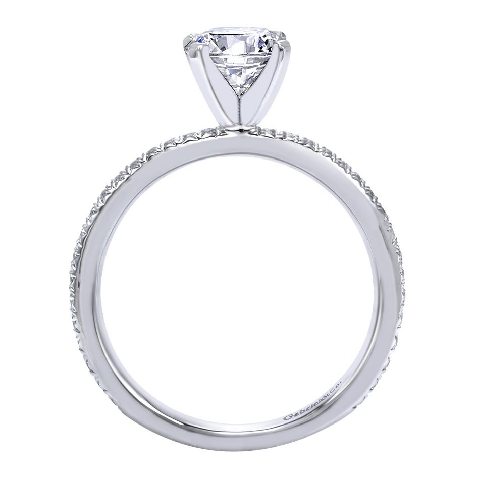 Gabriel & Co Engagement Rings Solitaire 17ctw Diamonds
