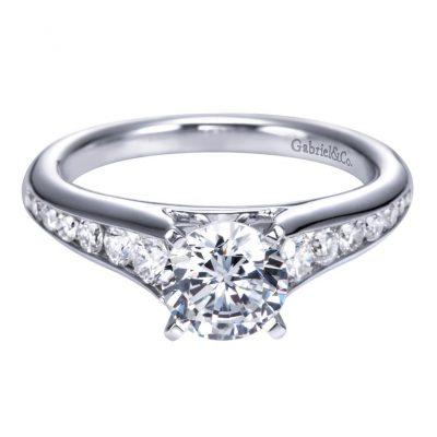 gabriel & co engagement rings