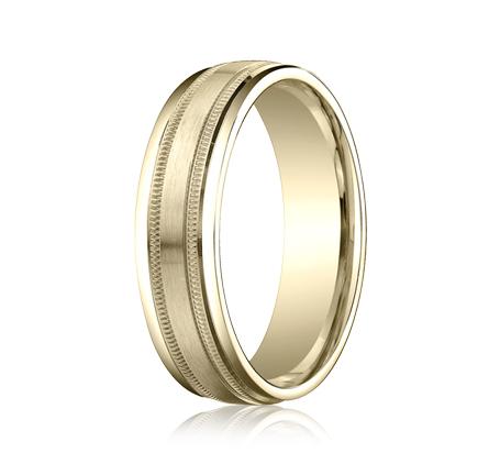 benchmark rings recf76015 milgrain wedding band