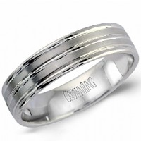 Crown Ring LB 2008 M10 Double Row Wedding Band
