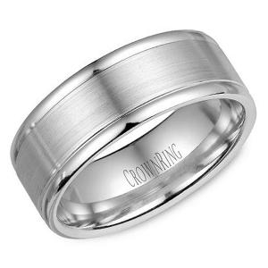 aa0efbb6f4a71 Crown Ring WB 8200 M10 Diamond Wedding Band