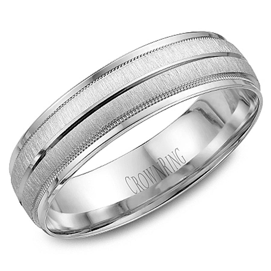 crown ring wb 7933 m10 wedding band