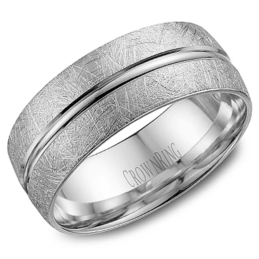 crown ring wb 7935 m10 wedding band
