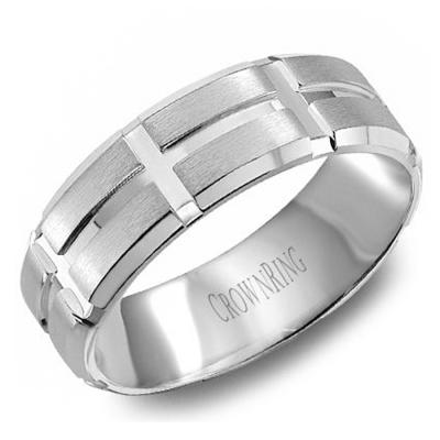Crown Ring wedding bands
