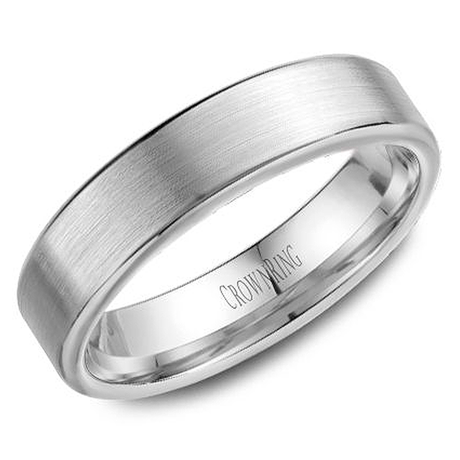 crown ring wb 9096 m10 wedding band