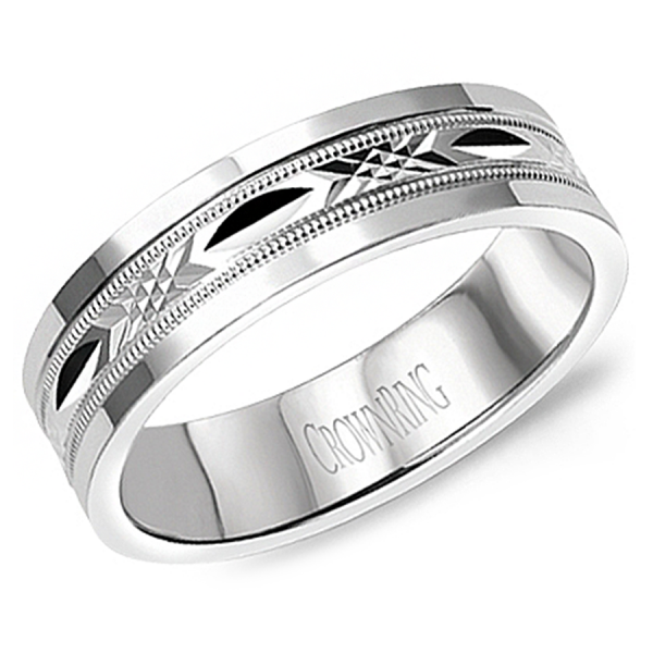Crown Ring Wedding Bands