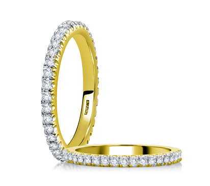 jaffe wr0855 20 classic stackable eternity wedding band