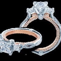 Verragio COUTURE-0423D-TT 0.50CTW Diamond Engagement Ring Setting