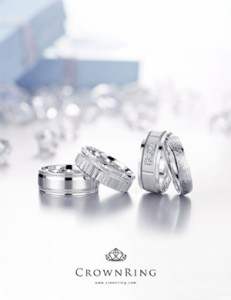 crown ring engagement rings