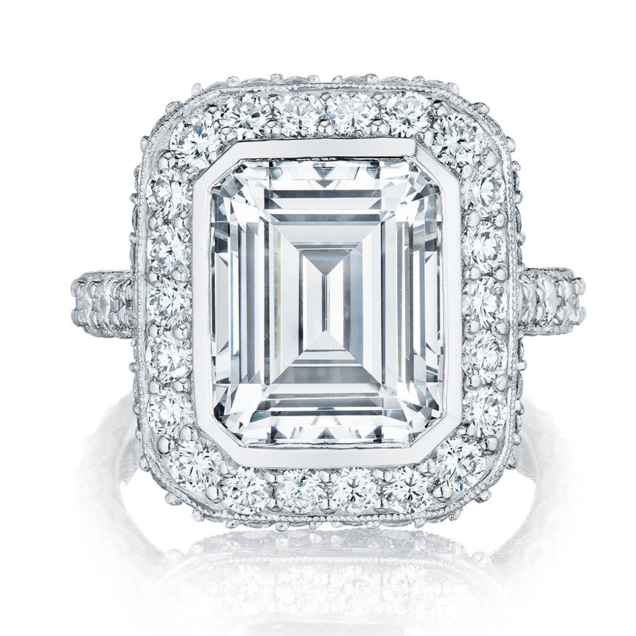 Tacori Engagement Rings Royalt Halo Setting 1 77ctw