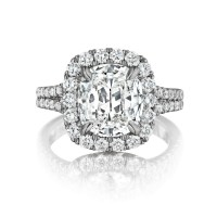 Henri Daussi AMDS 0.42ct Diamond Engagement Ring