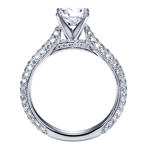 Gabriel & Co Engagement Rings Diamond 91ctw Straight Shank
