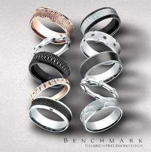 Benchmark Mens Wedding Bands