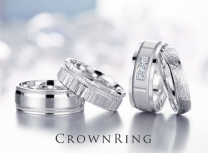 Crown Ring mens wedding bands