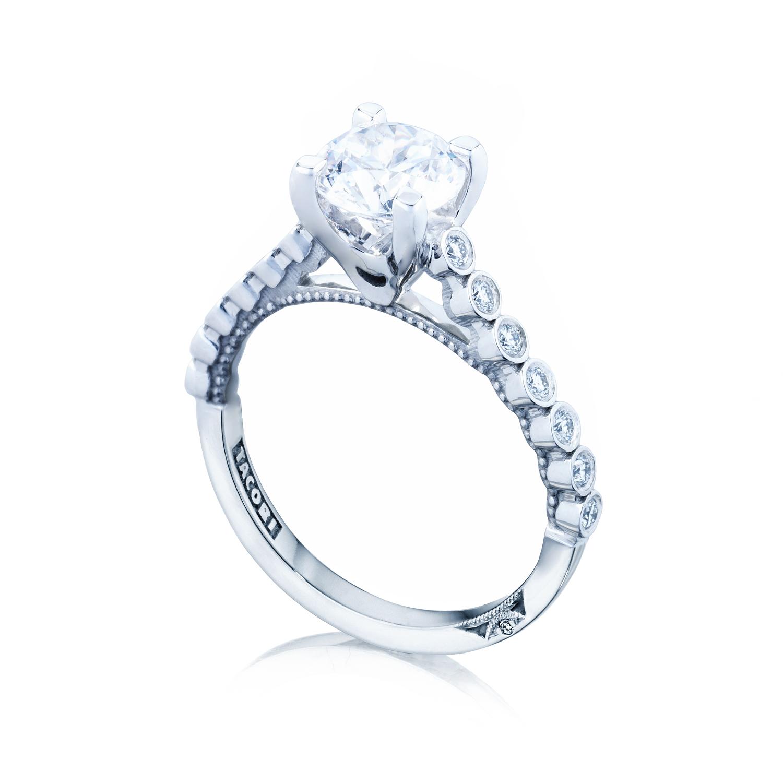 Engagement Rings Tacori: Tacori Engagement Rings Sculpted Crescent Bezel Setting