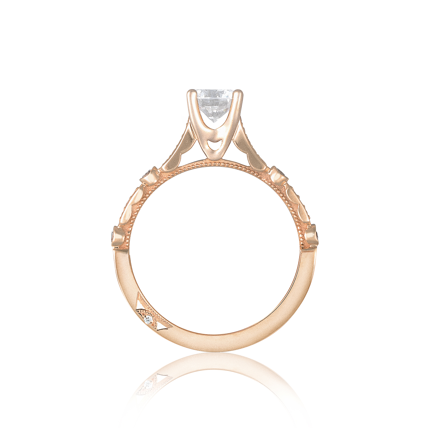 Tacori Engagement Rings Sculpted Crescent Rose Setting