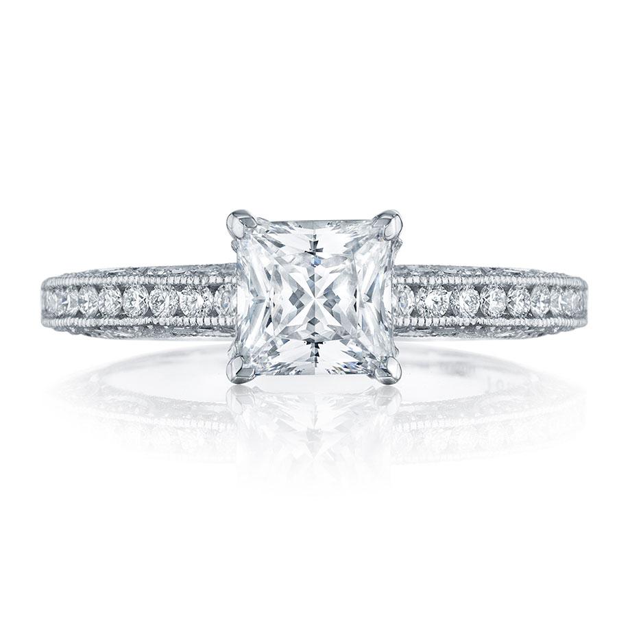 tacori engagement rings classic crescent setting