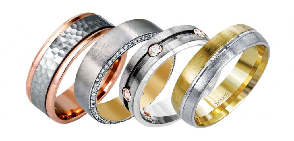 Simon G's Men's Wedding Bands