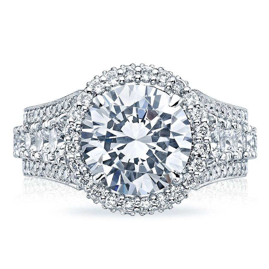Tacori Engagement Rings Royalt Halo Setting 2 43 Ctw
