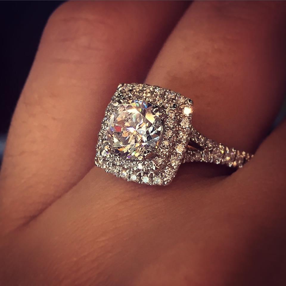 Verragio Engagement Rings 0 45ctw Diamond Setting