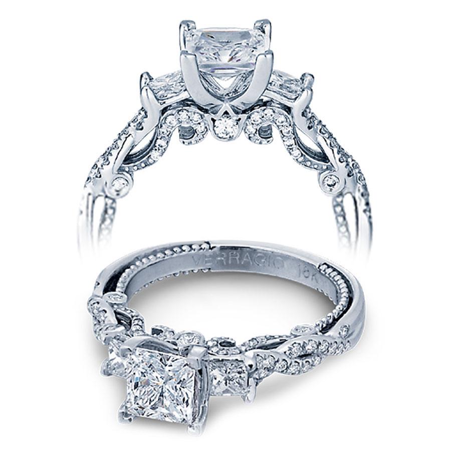 Verragio Engagement Rings Gold 0 55ctw Diamond Setting