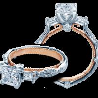 Verragio COUTURE-0423P-2T 0.50ctw Diamond Engagement Ring Setting