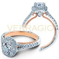 Verragio COUTURE-0424OV-2T 0.35ctw Diamond Engagement Ring Setting