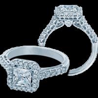 Verragio Classic-903P5.5 0.50ctw Diamond Engagement Ring Setting