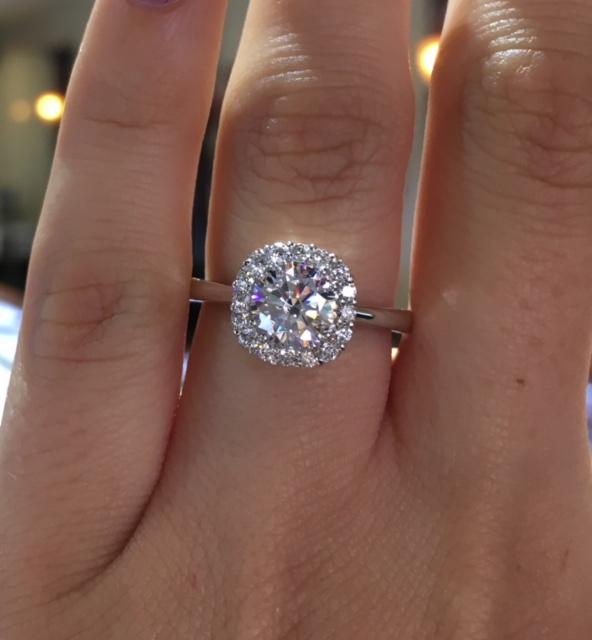 Tacori Black Diamond Ring