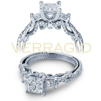 Verragio INSIGNIA-7074P 0.55ctw Diamond Engagement Ring Setting