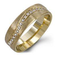Simon G LL124 0.35ctw Diamond Wedding Band
