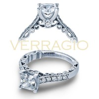 Verragio PARADISO-3076P 0.30ctw Diamond Engagement Ring Setting