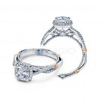 Verragio PARISIAN-106CU 0.30ctw Diamond Engagement Ring Setting