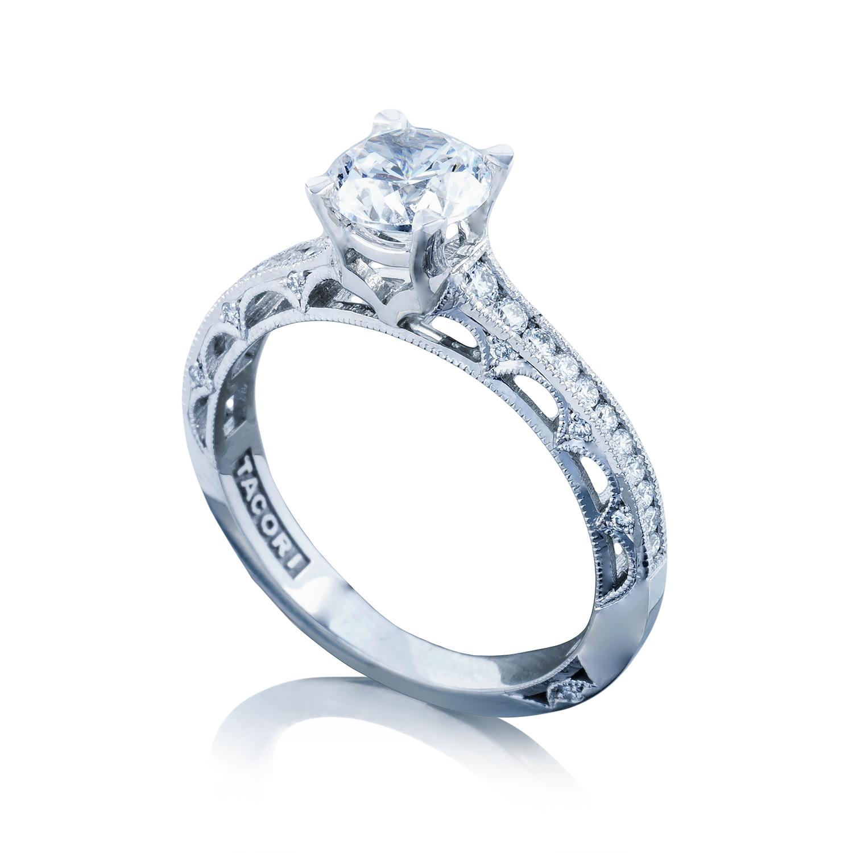 Engagement Rings Tacori: Tacori Engagement Rings Reverse Crescent Setting 0.25ctw