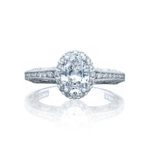 TACORI reverse crescent oval engagement ring