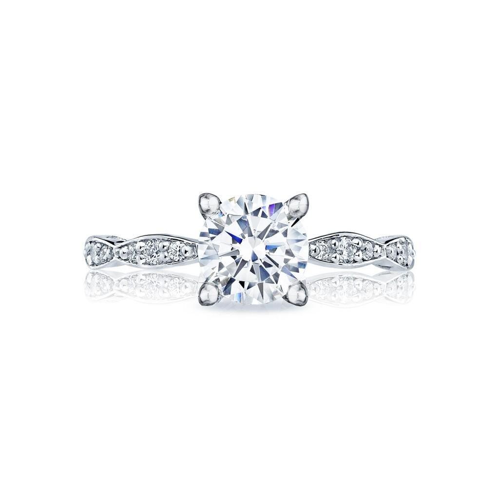 tacori engagement rings sculpted crescent setting 0 15ctw