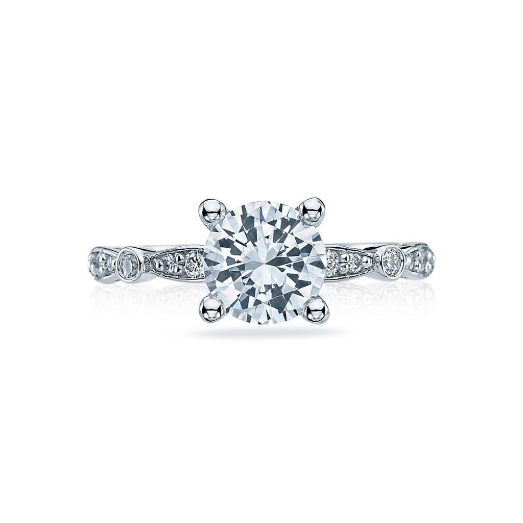 tacori engagement rings sculpted crescent 47 2 setting