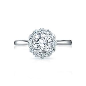 tacori full bloom flower engagement ring