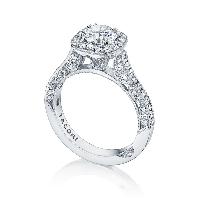 Engagement Rings Tacori: Tacori Engagement Rings Classic Crescent Setting 0.79ctw