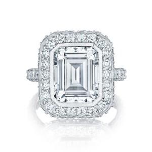 Tacori Emerald Cut royal t Engagement Ring
